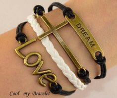 Personality infinite love dream bangle bracelet by Coolmybracelet, $5.99