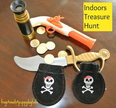Frogs and Snails and Puppy Dog Tail (FSPDT): Indoors Treasure Hunt