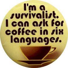 a matter of survival.