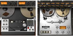 Ampex ATR 102 and Studer I use the ATR to remove digital harshness during Mastering and the to add warmth to tracks when Mixing. Both pieces Sound incredible! Virtual Studio, Magnetic Tape, Tape Recorder, My Happy Place, Plugs, Magnets, Audio, Digital, Music Production