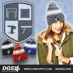 Stay warm on your way to the gym, school or your next meet with the new Soft, double-knit cuff, and is embroidered with a subtle logo depicting all 4 women's events. Available in 4 classic colors and a must have for any or parent! Gymnastics Supplies, Gymnastics Gear, Gymnastics Equipment, Gymnastics Outfits, Double Knitting, Stay Warm, Athlete, Beanie, Beanies