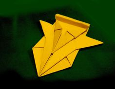 Awesome Paper spaceship. Easy to do. Origami spacecraft.