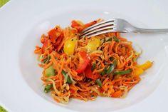 Insalata di carote all'orientale