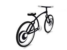 Op Art Concept Bike