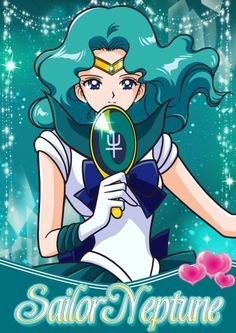 Sailor Neptune, because as if the whole new season wasn't enough to get me to love this show all over again.
