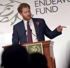 Prince Harry Photos - Prince Harry Attends The Endeavour Fund Reception - Zimbio