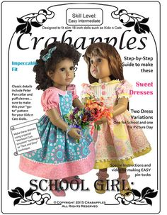 SCHOOL GIRL DRESSES FOR KIDZ N CATS DOLLS