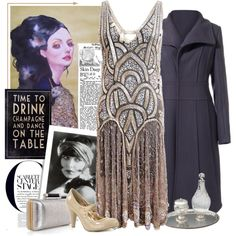 My greatest style dream would be to rock a modern flapper + vintage 40s uniform with strong masculine lines/accents.