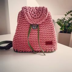#hackovani #crochet #bag #handmade #handmadecrafts #design #lifestyle #autumncolors #homedesign Homedesign, Handmade Crafts, Crochet, Backpacks, Lifestyle, Bags, Fashion, Handbags, Moda