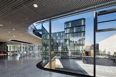 Zentrale der Aachen Münchener Versicherung in Aachen - Glas - Büro/Verwaltung - baunetzwissen.de