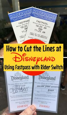 Taking a baby to Disneyland? Learn how to cut the lines using Rider Switch in conjunction with Fastpass.