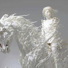 Beautiful sculpture by Motohiko Odani