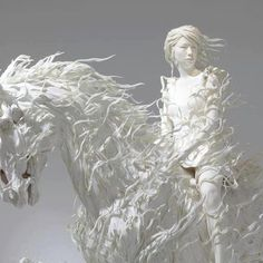 Beautiful sculpture by Motohiko Odani