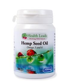 Olej z konopii 300mg 90 kapsułek Hemp Seeds, Seed Oil, Vitamins, Health, Salud, Health Care