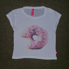 Cotton On Donut Crop Top Conditon :10/10 Style: Very light crop top. Very comfortable and form fitting. Cotton On Tops Crop Tops