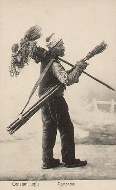 vintage chimney sweep painting - Google Search