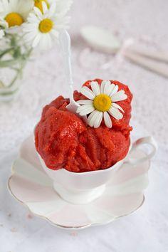 """""""Erdbeer Sorbet!"""" http://www.lisbeths.de/erdbeer-sorbet/"""