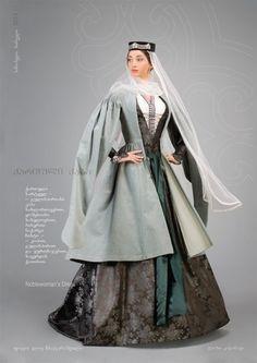 Sophio.    Noblewoman's Dress, by Samoseli Pirveli.