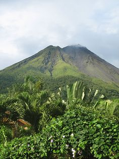 The Arenal volcano in Costa Rica-- and I HAVE actually been here! Not just fantasy! The Places Youll Go, Places Ive Been, Costa Rica, World Traveler, Mount Rainier, Places To Travel, To Go, Wanderlust, Bucket