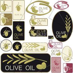 esempi bozze etichette olio oliva