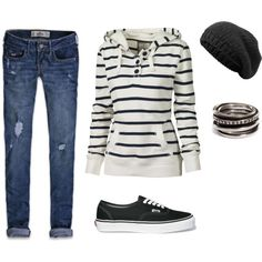 Cute casual/sporty Fall Tahoe or End of Summer into Fall Beach Weekend Wear, created by mshcarey