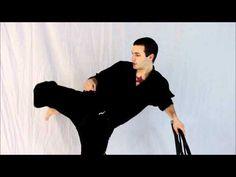 Basic Stretches For Better Kicks - YouTube