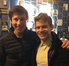 Zachary Sayle and Andrew Keenan-Bolger aka Broadway and Tour Crutchies!