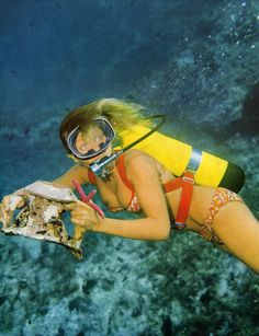 Buy Commercial Diving Tools from Experienced Saturation Diver. Women's Diving, Scuba Diving Gear, Diving Suit, Scuba Diver Costume, Surf, Diving Wetsuits, Scuba Girl, Diving Equipment, Vintage Swimsuits