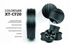 ColorFabb Releases Advanced Carbon Fiber Composite 3D Printing Filament  |  colorfabb-xt-cf20