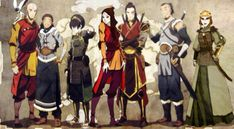 Background Avatar The Last Airbender Desktop Wallpaper