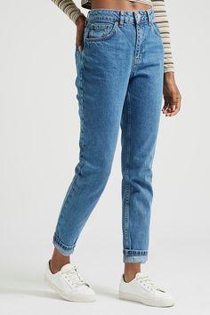 low priced b81fa 51e4c Carousel Image 0 Petite Mom Jeans, Mom Jeans Style, Slim Mom Jeans, Petite