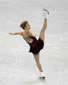 Ashley Wagner Red Figure Skating / Ice Skating dress inspiration for Sk8 Gr8 Designs.