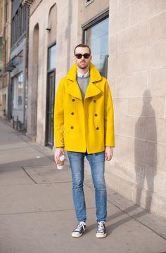 Quiero este abrigo amarillo YAAAAA!!!!!