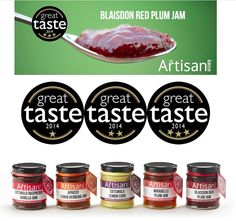 The artisan kitchen. Multi award winning at the Great Taste Awards 2014!