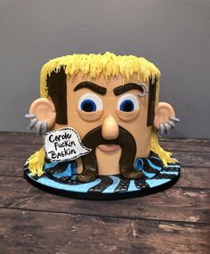 What a beautifully strange show.so here is my rendition of Joe in cake form. King Birthday, 30th Birthday, Birthday Ideas, Cupcake Cakes, Cupcake Ideas, Cupcakes, Harley Davidson Cake, Funny Birthday Cakes, Special Kids