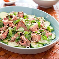 Thai Grilled-Beef Salad Recipe - America's Test Kitchen