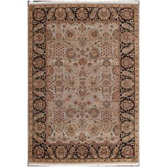 ABC Accents Persian Oushak Hand-knotted Rug