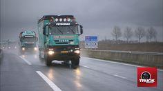 Qui a eu le plaisir de croiser les camions du DAKAR 2013 en direction de Calais ?  Le DAKAR, c'est reparti avec IVECO - truck Editions
