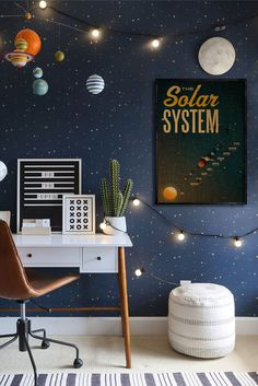 Fine Decoration Chambre Fille Espace that you must know, You?re in good company if you?re looking for Decoration Chambre Fille Espace Boys Space Bedroom, Outer Space Bedroom, Cool Kids Bedrooms, Kids Bedroom Designs, Boys Bedroom Decor, Kids Room Design, Bedroom Themes, Boy Room, Kid Bedrooms