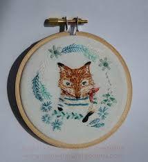 fox embroidery - Google Search