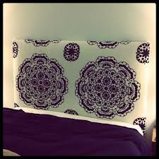 diy upholstered headboard - Google Search