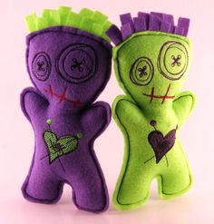 Zombie/Voodoo Pincushion Doll -