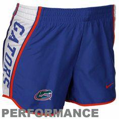 Nike Florida Gators Ladies Royal Blue Pacer Performance Shorts
