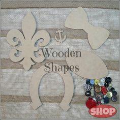 Wood Craft Shapes