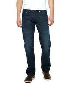 Levi's Men's 559 Relaxed Seat And Thigh Fit Jean, Midnight Oil, 46Wx34L
