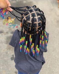 Black Baby Girl Hairstyles, Black Kids Braids Hairstyles, Little Girls Natural Hairstyles, Toddler Braided Hairstyles, Cute Hairstyles For Kids, Kid Hairstyles, Little Girl Braid Styles, Little Girl Braids, Braid Styles For Kids