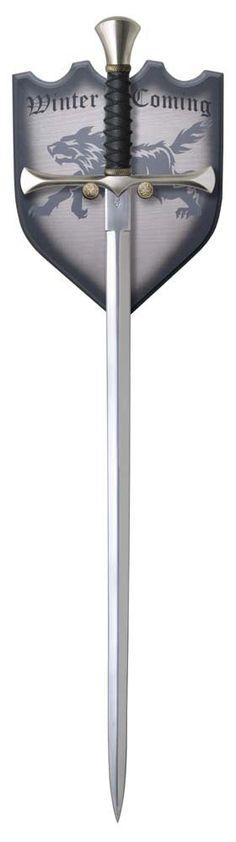 Espada Juego de Tronos, Needle (Aguja) Arya Stark. Canción de Hielo y Fuego