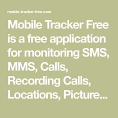 Mobile Tracker Free is a free application for monitoring SMS, MMS, Calls, Recording Calls, Locations, Pictures, Facebook, WhatsApp, Applications and more! Tracker Free, Android Smartphone, Bible Verses Quotes, Monitor, Deep, Facebook, Drawing, Pictures, Photos