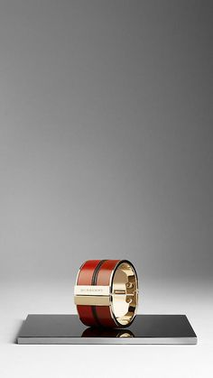 Burberry - COLOURED LEATHER BRACELET