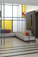 Sala de Estar inspirada em Mondrian